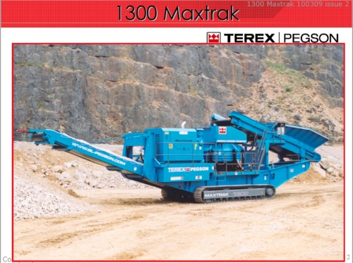 Product picture Terex 1300 Maxtrak